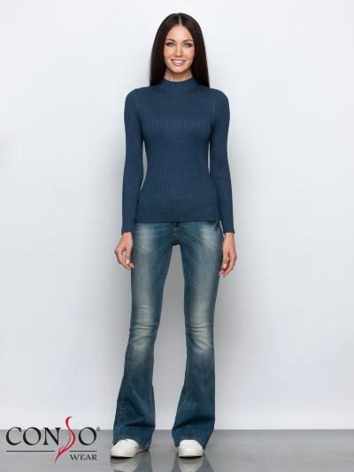 Водолазка Женская Conso KTL 190715 - jeans